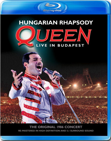 Review Queen Hungarian Rhapsody Live In Budapest Blu