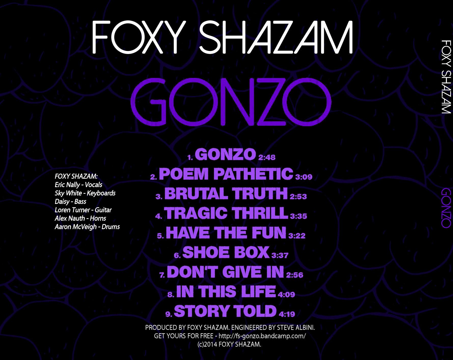 Images for foxy shazam vinyl