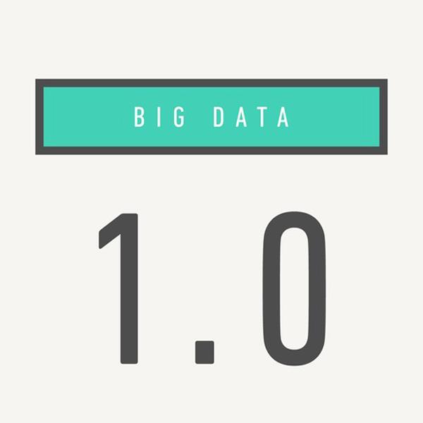 big data 1-0