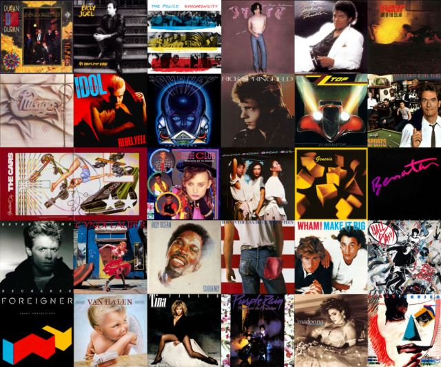 Albums of 1984