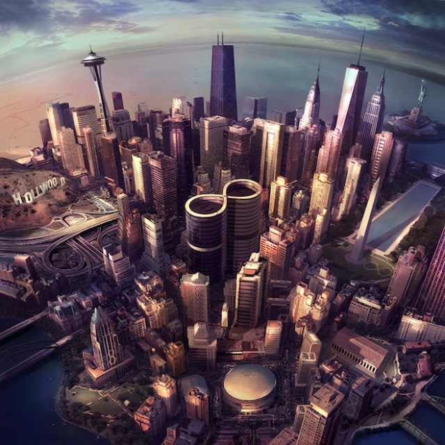Foo Fighters - Sonic Highways (1000)